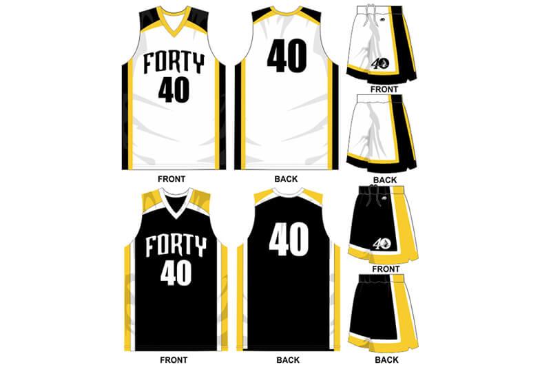 white uniform with black alternate