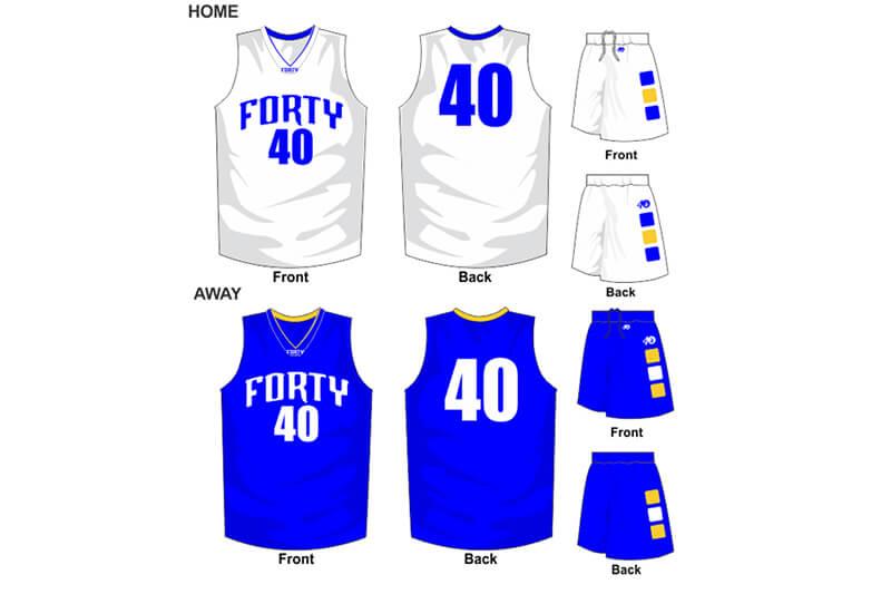 white uniform and blue alternate