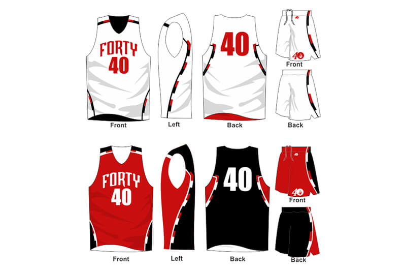white uniform with red and black alternate