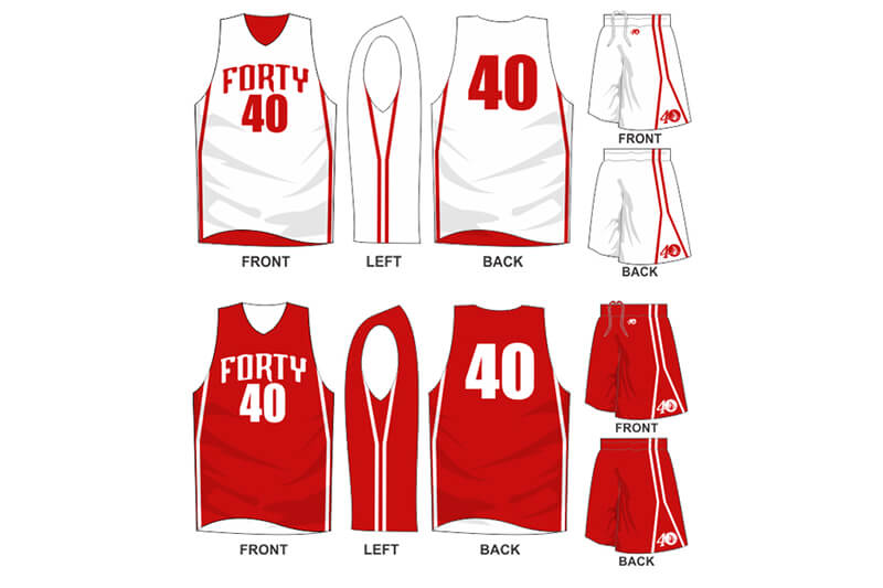 red uniform with red alternate